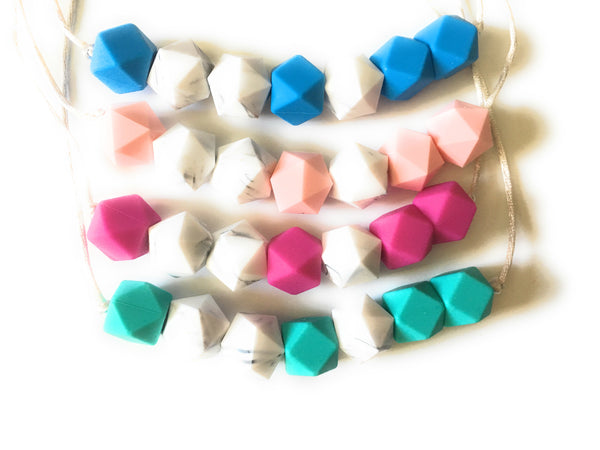 Seven Sisters Silicone Teething Necklace