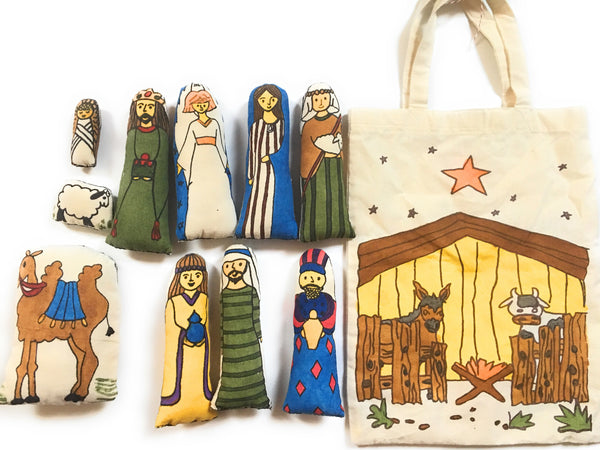 N is for Nativity Bag