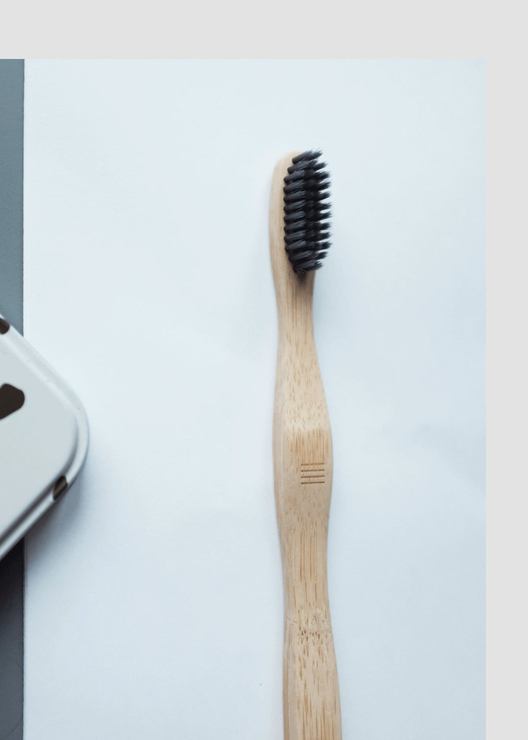 Bamboo Black Charcoal Toothbrush