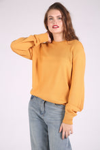 Orange Merino Wool Extrafine Pullover