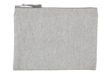 Grey Recycled Woven Pencil Case