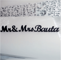 Wedding Mr&Mrs + Surname - The Suggestion Store