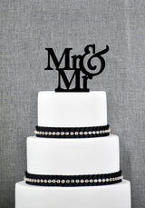MR AND MRS CAKE TOPPER WEDDING - The Suggestion Store