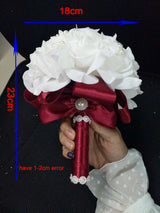 Rose Bridesmaid Wedding flowers Customized - The Suggestion Store