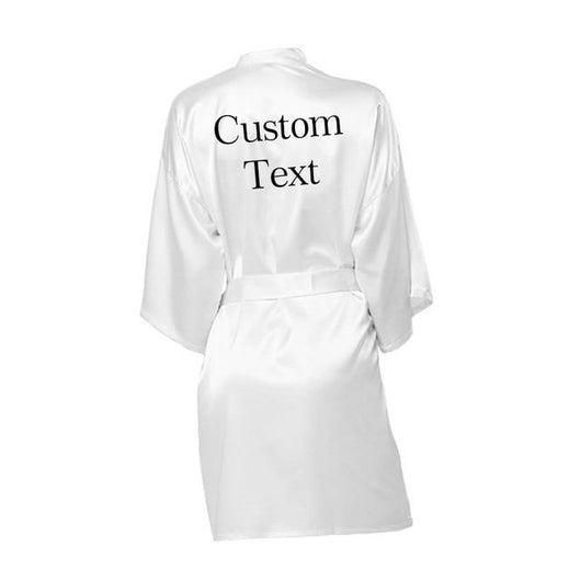 Personalized Robe wedding team rose letter - The Suggestion Store