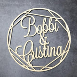 Custom Wooden Wedding Wall Sign - The Suggestion Store
