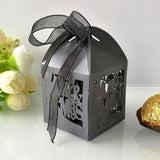 50pcs Candy Box Sweets Gift Boxes With Ribbon - The Suggestion Store