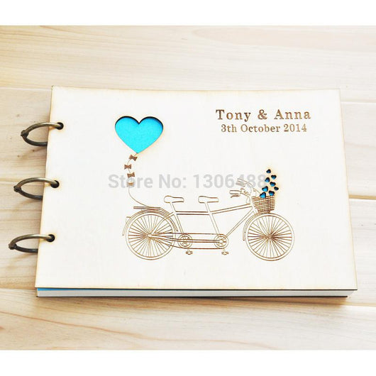 Personalized Wedding guest book - The Suggestion Store