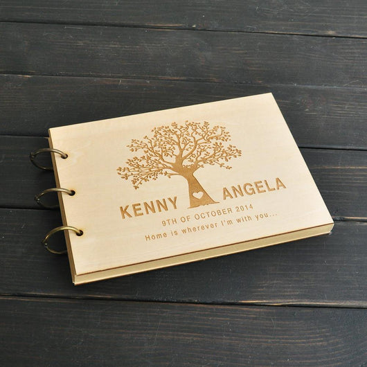 CUTE WEDDING TREE GUEST BOOK - The Suggestion Store