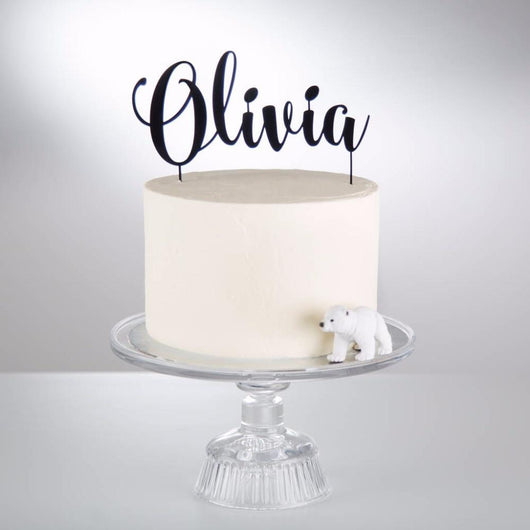 Custom Cake Topper Personalized - The Suggestion Store