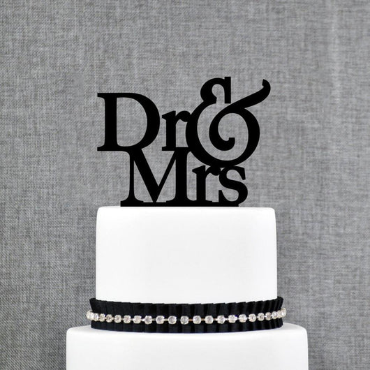 Dr and Mrs Wedding Cake Topper - The Suggestion Store