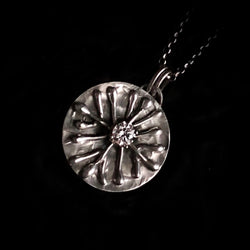 Sparkling - Snowflake Sterling SIlver  Necklace