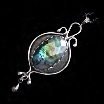 Looking Glass - Labradorite & Sterling Silver Necklace