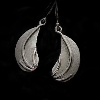 Handmade Reclaimed Sterling Silver Earrings