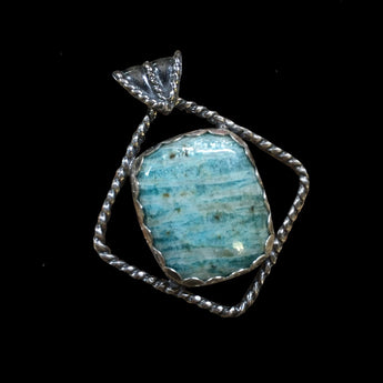 Kai - Amazonite and Sterling Silver Necklace