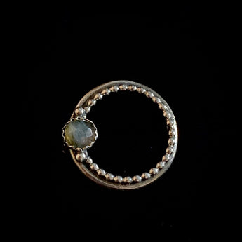 Cirque - Labradorite and Sterling Silver Ring