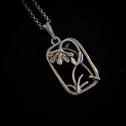 Petal - Handmade Sterling Silver Necklace