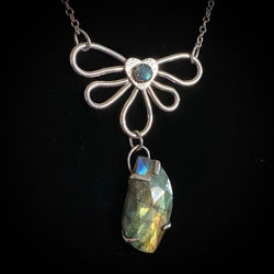 Credence - Labradorite and Sterling Silver Necklace