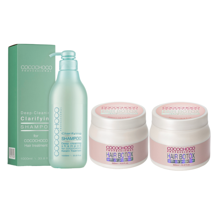 COCOCHOCO PROFESSIONAL HAIR BOTOX KIT 500ml x 2