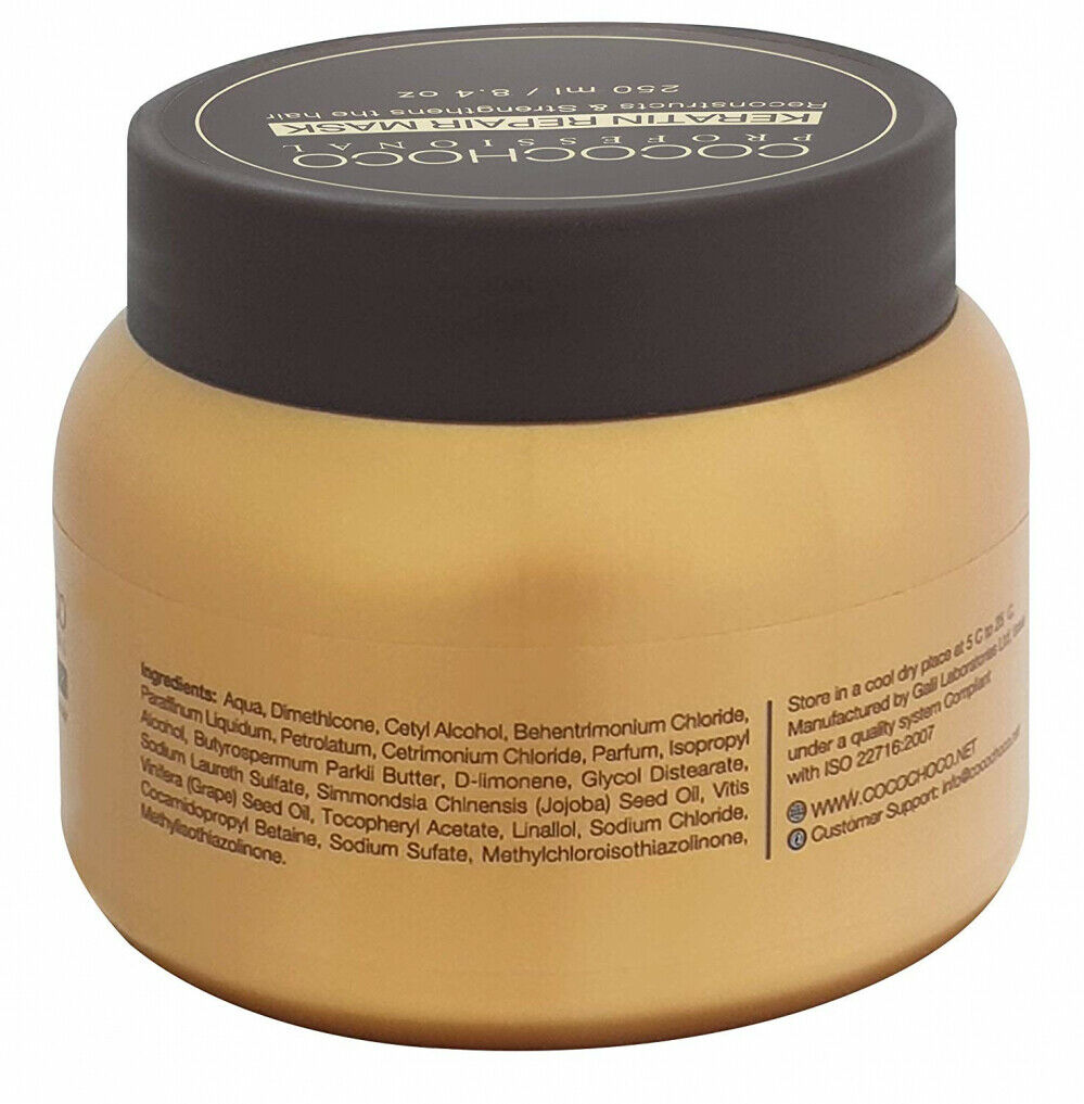 COCOCHOCO PROFESSIONAL KERATIN REPAIR MASK 250ml