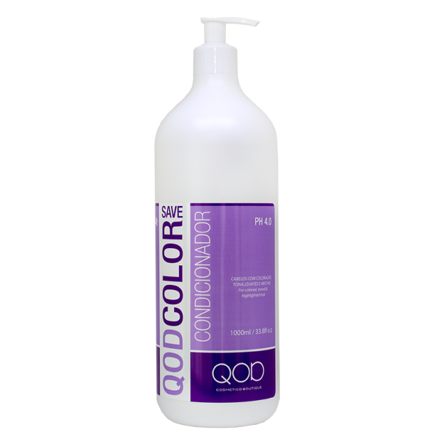 LUXURY QOD COLOR SAVE SALT FREE CONDITIONER 1000ml