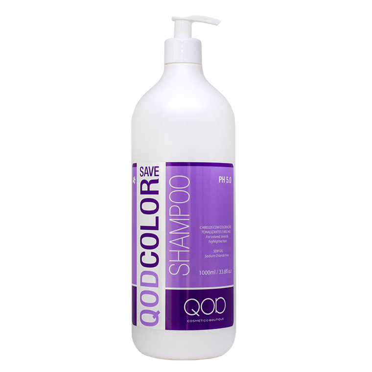 LUXURY QOD COLOR SAVE SALT FREE SHAMPOO 1000ml