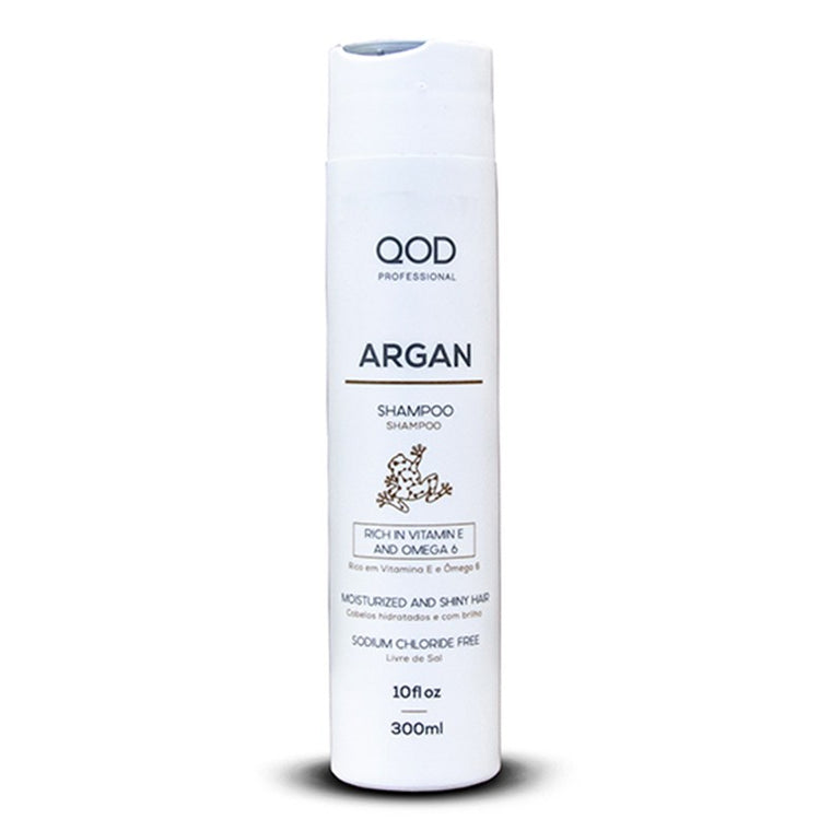 LUXURY QOD ARGAN SALT FREE SHAMPOO 300ml x 6