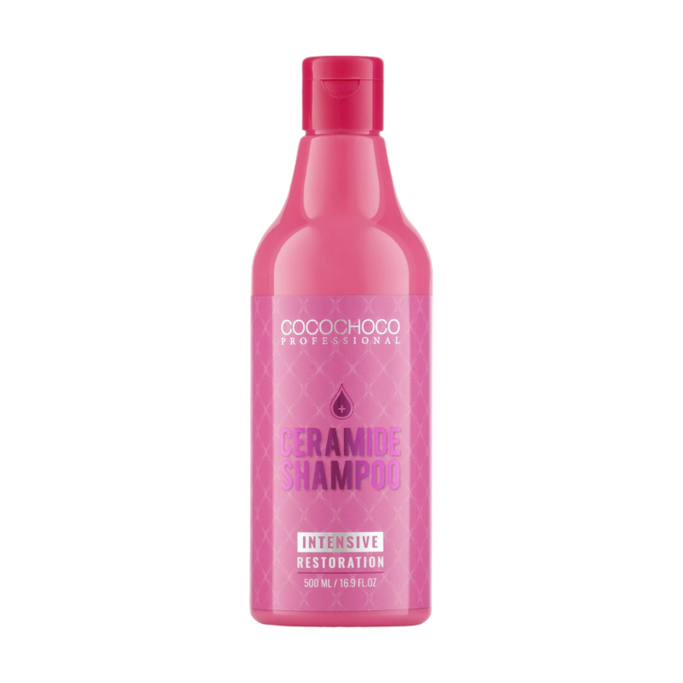 COCOCHOCO PROFESSIONAL SULPHATE AND SALT FREE CERAMIDE INTENSIVE RESTORATION SHAMPOO 500ml