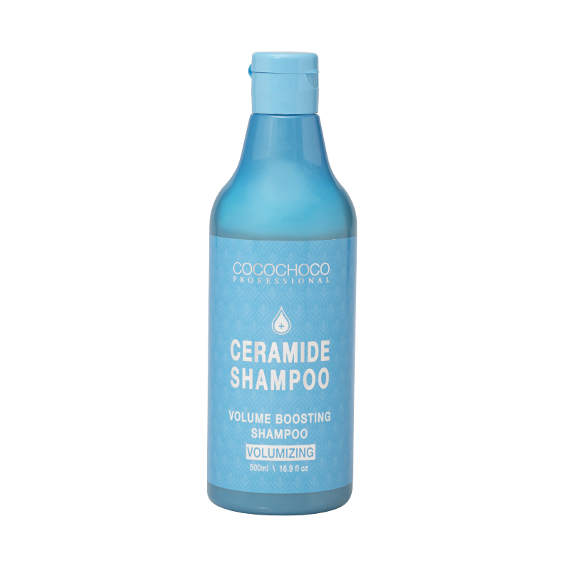 COCOCHOCO PROFESSIONAL SULPHATE AND SALT FREE CERAMIDE VOLUME BOOSTING SHAMPOO 500ml