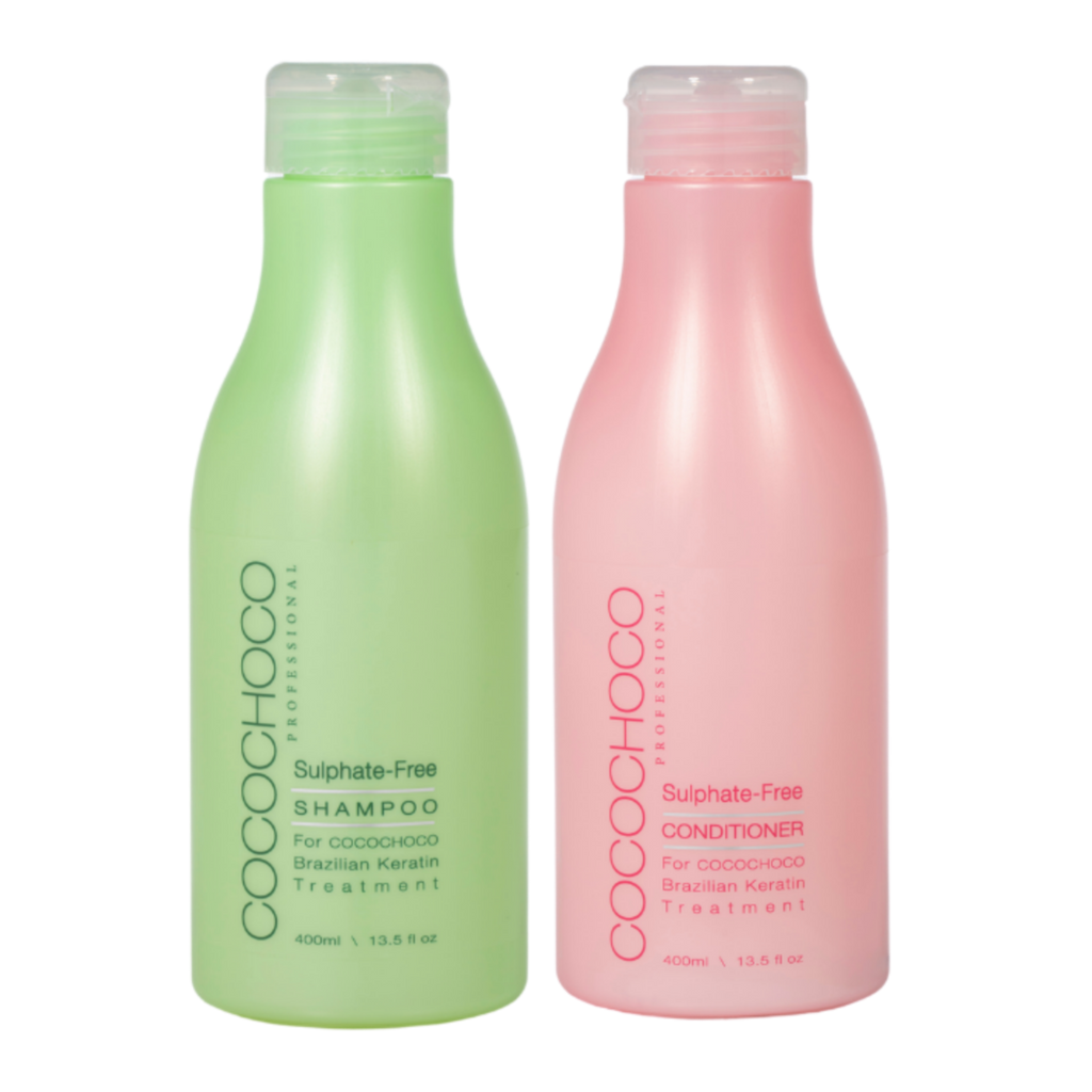COCOCHOCO PROFESSIONAL SULPHATE FREE SHAMPOO & CONDITIONER SET 400ml