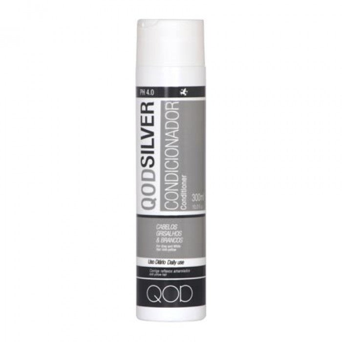 LUXURY QOD SILVER SALT FREE CONDITIONER 300ml x 6