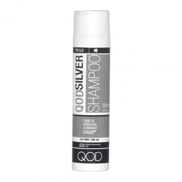 LUXURY QOD SILVER SALT FREE SHAMPOO 300ml x 6