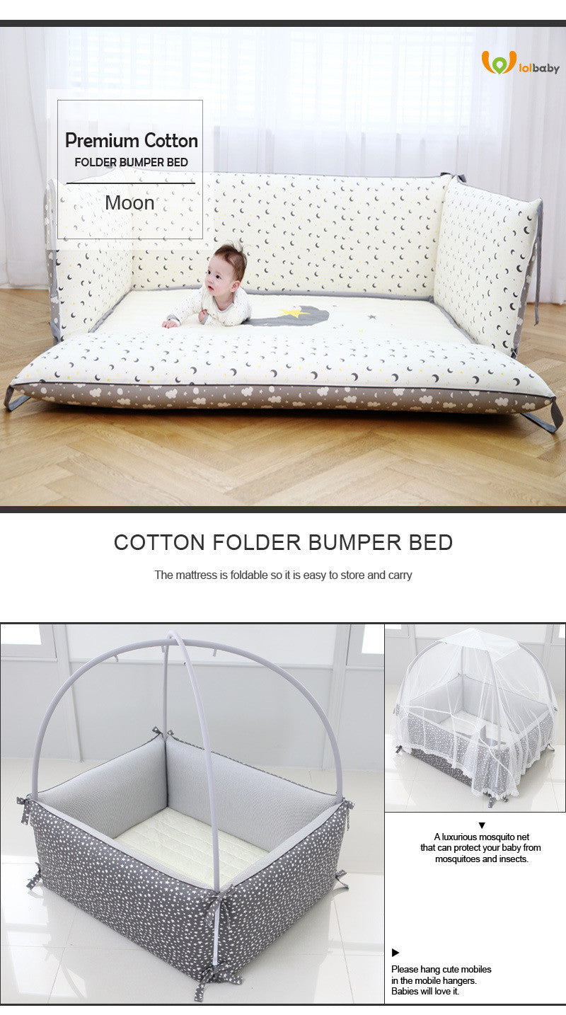 LOLBaby Convertible Bumper Bed