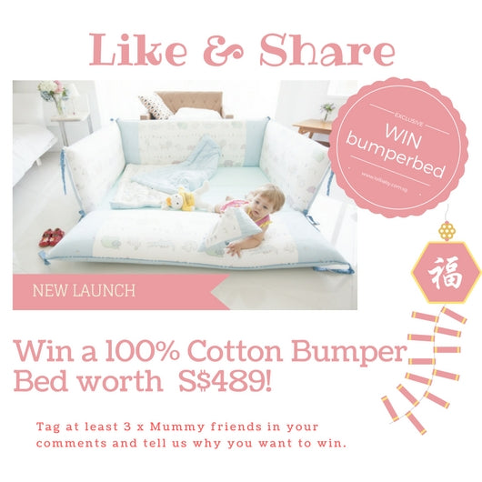 LOLbaby Bumper Bed Giveaway