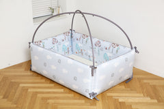 LOLbaby lolfriend edition bumper bed - Forest Blue