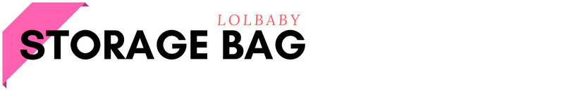 LOLbaby Storage Bag Header