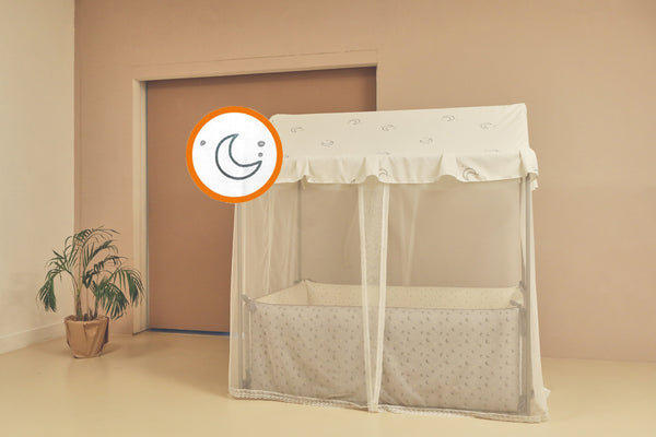 LOLBaby Playhouse Canopy - Lazy Moon
