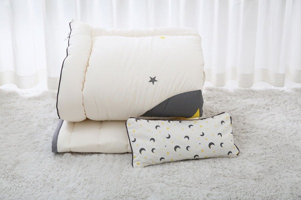 100% Premium Cotton Bedding Set - Moon