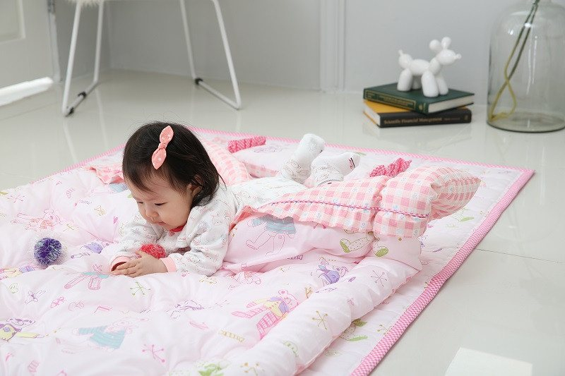 Bedding Set - 100% Premium Cotton Bedding Set - Bebe Pink