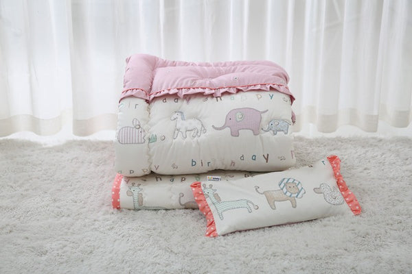Bedding Set - 100% Premium Cotton Bedding Set - Maman Pink