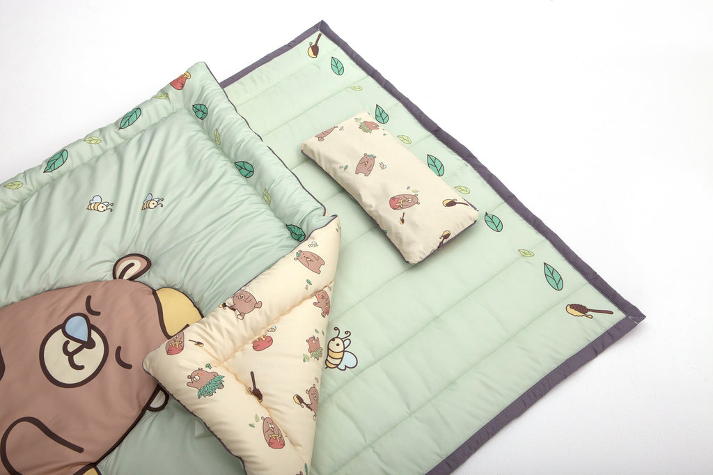 Microfiber Bedding Set - Honey Bear