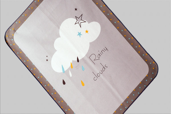 Waterproof Mat - Rainy Cloud