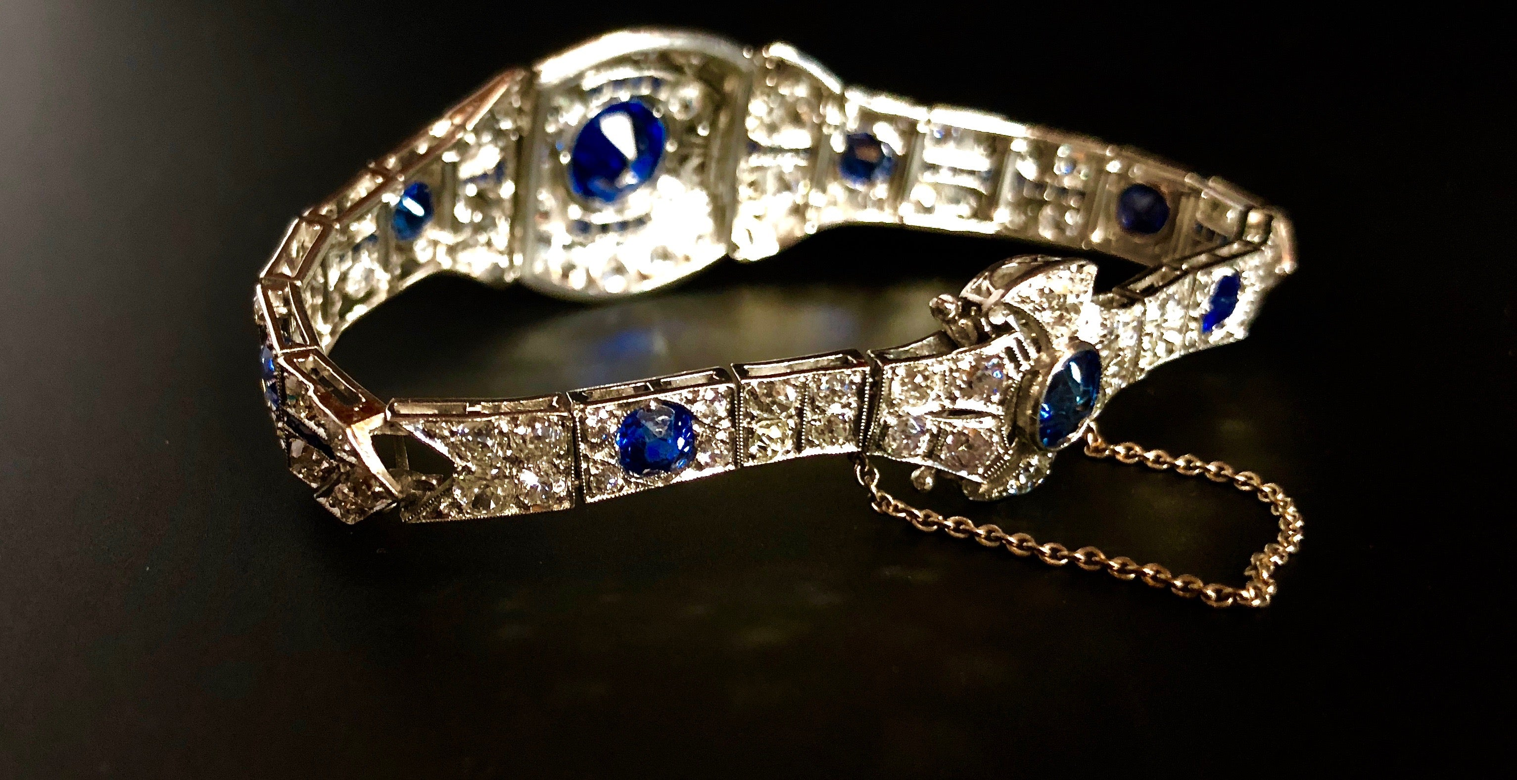 bracelet jewels sapphire nyr christies deco online christie s diamond art and