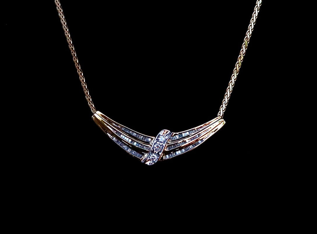 product harry necklace estate merrill home diamond son opal