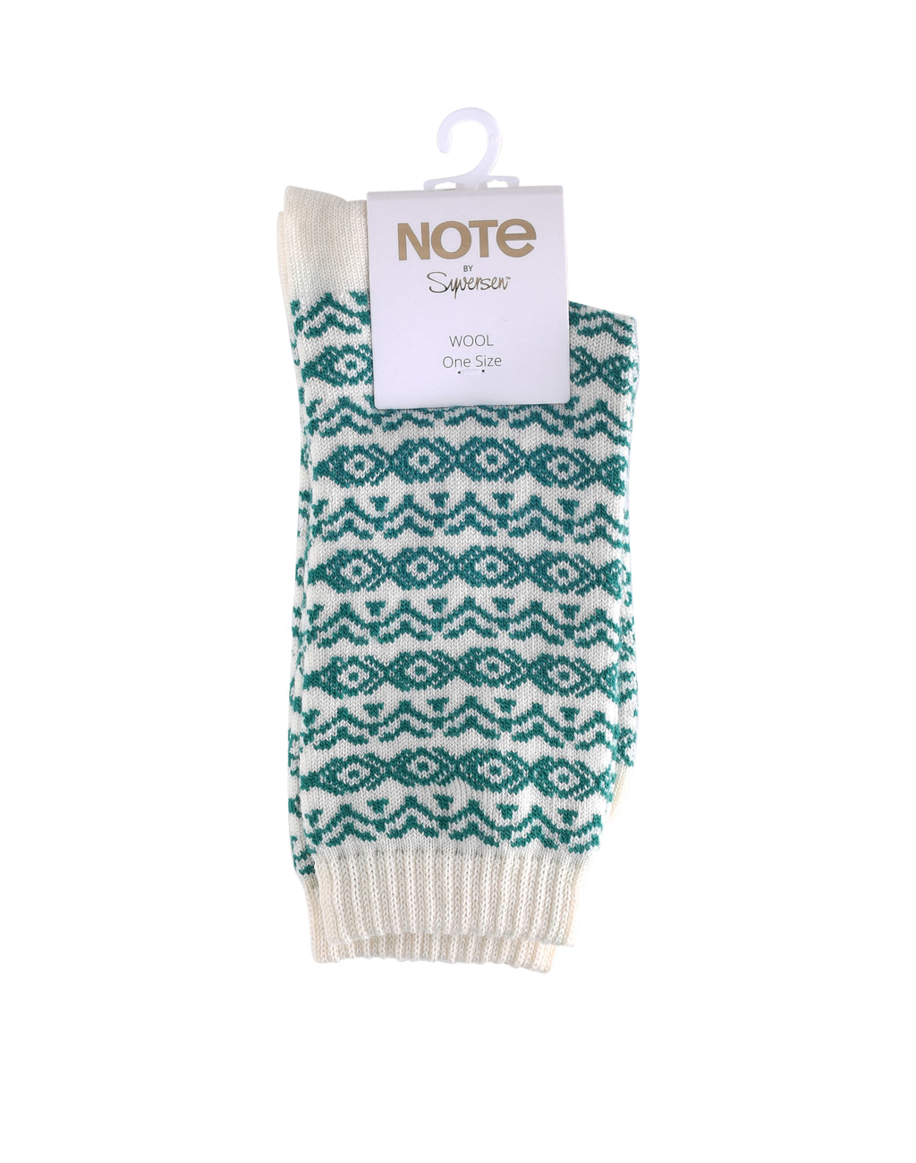 Note Wool pattern Green