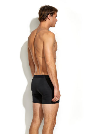 Bamboo/cotton boxer briefs black