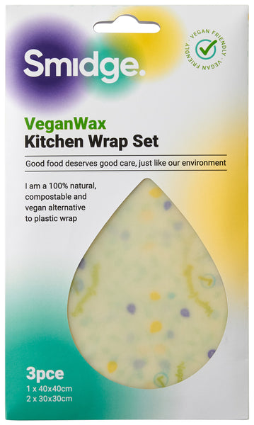 Veganwax Kitchen wrap set