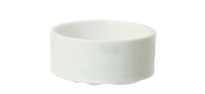 Wave stack bowl white