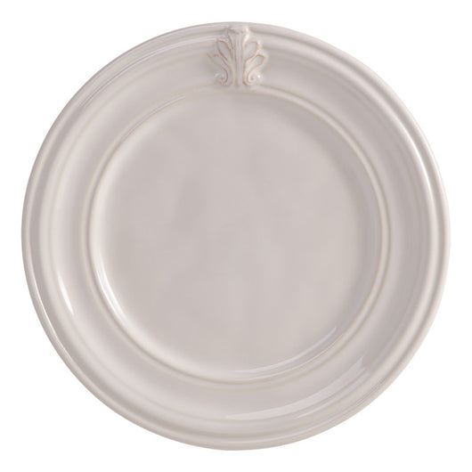 Acanthus Whitewash Side Cocktail Plate