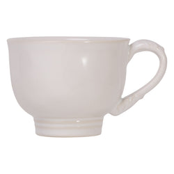 Relish House Acanthus Whitewash Tea/Coffee Cup